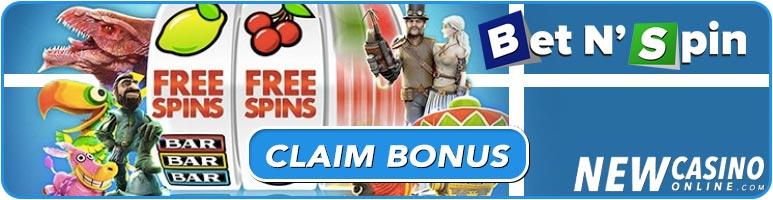 bet n spin casino online bonus