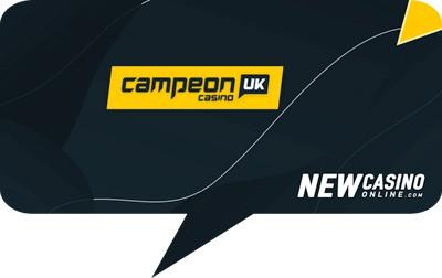 CampeonUK welcome bonus free spins