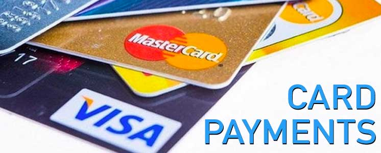 card payments visa mastercard
